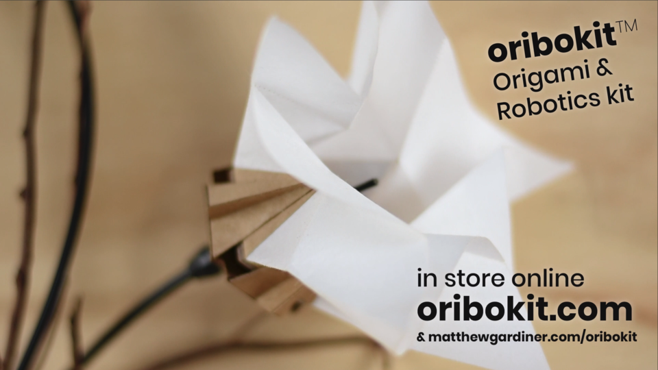 oribokit robotic origami kit